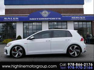 2019 Volkswagen Golf GTI for sale at Highline Group Motorsports in Lowell MA