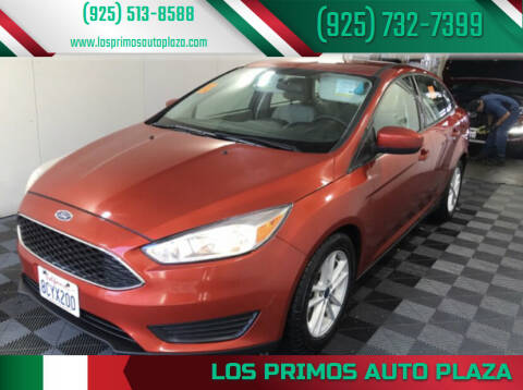 2018 Ford Focus for sale at Los Primos Auto Plaza in Brentwood CA