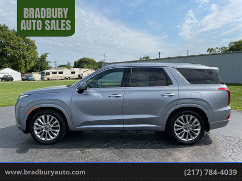 2020 Hyundai Palisade for sale at BRADBURY AUTO SALES in Gibson City IL