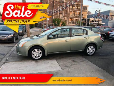 2008 Nissan Sentra for sale at Nick Jr's Auto Sales in Philadelphia PA