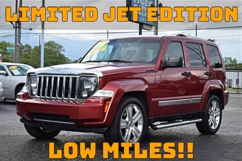 2012 Jeep Liberty for sale at TIGER AUTO SALES INC in Redford MI