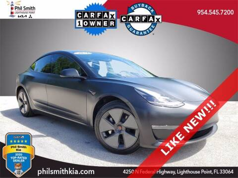 2021 Tesla Model 3 for sale at PHIL SMITH AUTOMOTIVE GROUP - Phil Smith Kia in Lighthouse Point FL