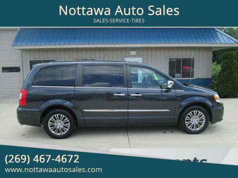 2014 Chrysler Town and Country for sale at Nottawa Auto Sales in Nottawa MI