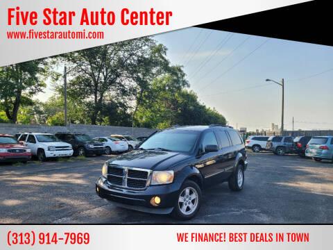 2007 Dodge Durango for sale at Five Star Auto Center in Detroit MI