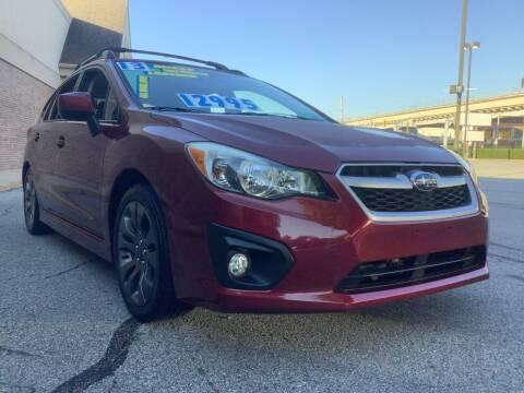 2013 Subaru Impreza for sale at Active Auto Sales Inc in Philadelphia PA