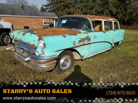 1955 Buick Century for sale at STARRY'S AUTO SALES in New Alexandria PA