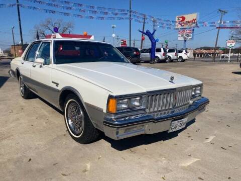 1984 Pontiac Parisienne for sale at Russell Smith Auto in Fort Worth TX