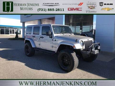 2014 Jeep Wrangler Unlimited for sale at Herman Jenkins Used Cars in Union City TN