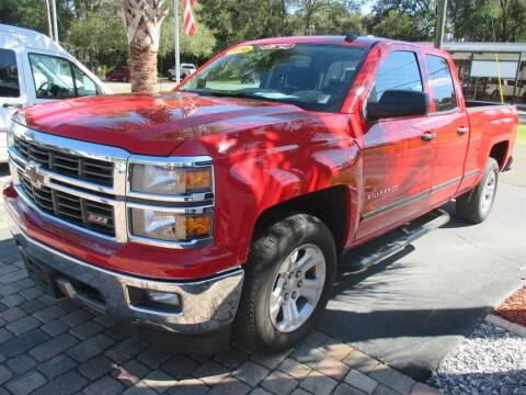 2014 Chevrolet Silverado 1500 for sale at Affordable Auto Motors in Jacksonville FL