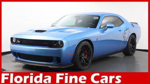 2016 Dodge Challenger for sale at Florida Fine Cars - West Palm Beach in West Palm Beach FL
