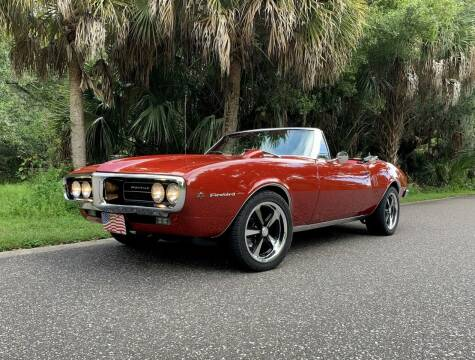 1967 Pontiac Firebird for sale at P J'S AUTO WORLD-CLASSICS in Clearwater FL