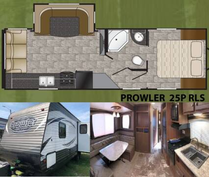 2016 Heartland Prowler 25RLS for sale at S & M WHEELESTATE SALES INC - Camper in Princeton NC