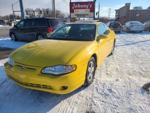 2004 Chevrolet Monte Carlo for sale at Johnny's Motor Cars in Toledo OH