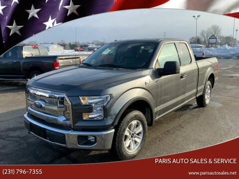 2015 Ford F-150 for sale at Paris Auto Sales & Service in Big Rapids MI