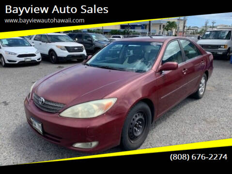 2004 Toyota Camry for sale at Bayview Auto Sales in Waipahu HI