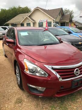 2015 Nissan Altima for sale at S & J Auto Group in San Antonio TX