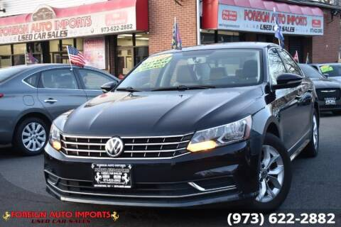 2017 Volkswagen Passat for sale at www.onlycarsnj.net in Irvington NJ