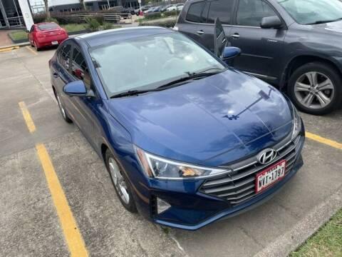 2020 Hyundai Elantra for sale at FREDY USED CAR SALES in Houston TX