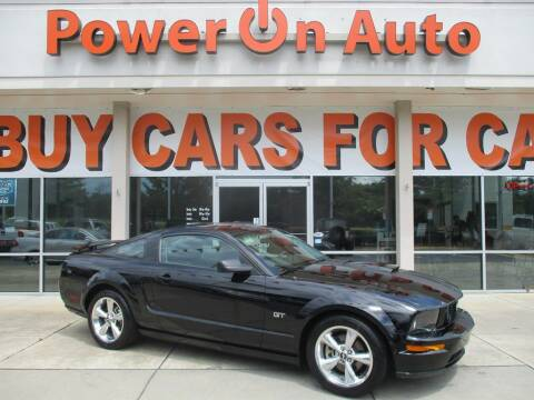 2008 Ford Mustang for sale at Power On Auto LLC in Monroe NC