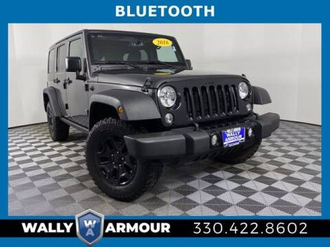 2016 Jeep Wrangler Unlimited for sale at Wally Armour Chrysler Dodge Jeep Ram in Alliance OH