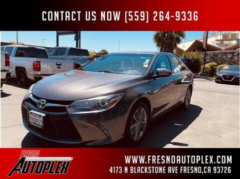 2017 Toyota Camry for sale at Fresno Autoplex in Fresno CA