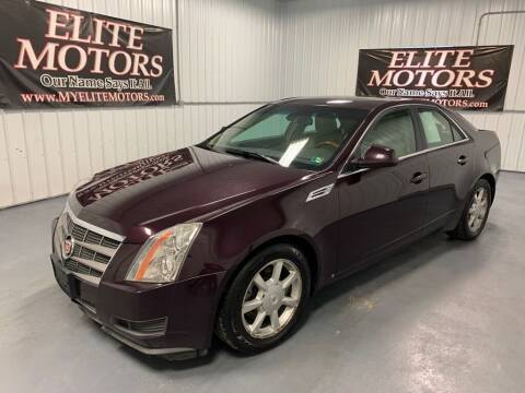 2009 Cadillac CTS for sale at Elite Motors in Uniontown PA