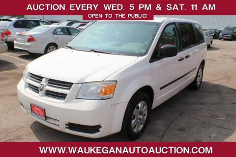 2008 Dodge Grand Caravan for sale at Waukegan Auto Auction in Waukegan IL