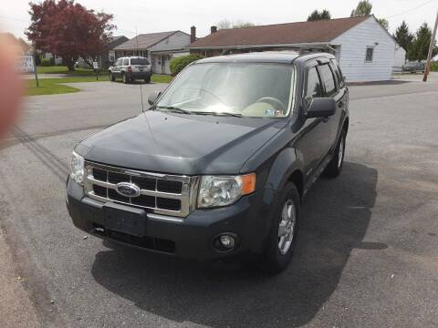 2008 Ford Escape for sale at Lehigh Valley Truck n Auto LLC. in Schnecksville PA