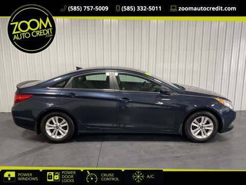 2013 Hyundai Sonata for sale at ZoomAutoCredit.com in Elba NY