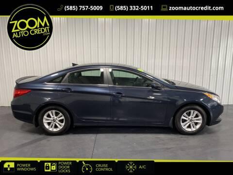 2013 Hyundai Sonata for sale at ZoomAutoCredit.com in Elba NY
