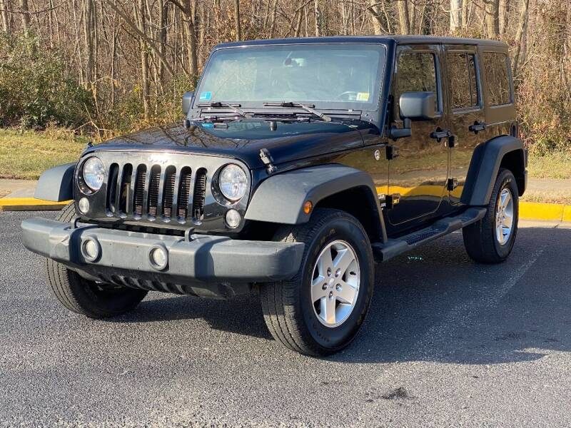2014 Jeep Wrangler Unlimited for sale at Diamond Automobile Exchange in Woodbridge VA