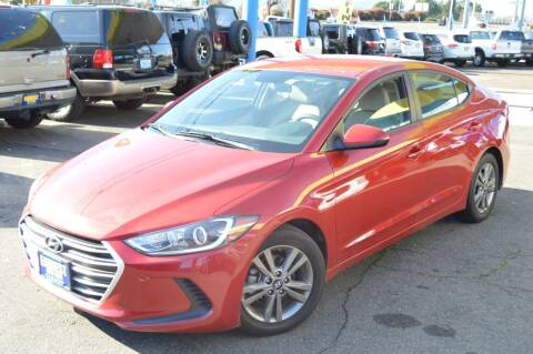 2018 Hyundai Elantra for sale at Earnest Auto Sales in Roseburg OR