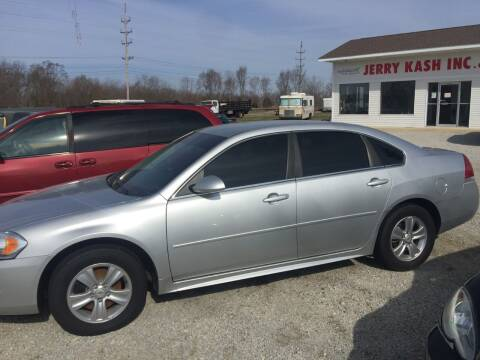 2012 Chevrolet Impala for sale at Jerry Kash Inc. in White Pigeon MI
