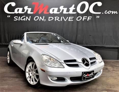 2005 Mercedes-Benz SLK for sale at CarMart OC in Costa Mesa CA