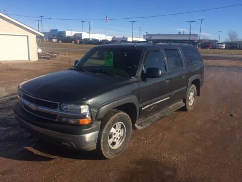 2003 Chevrolet Suburban for sale at BLAESER AUTO LLC in Chippewa Falls WI