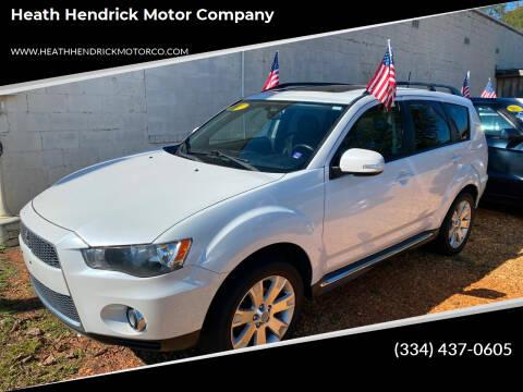 2011 Mitsubishi Outlander for sale at Heath Hendrick Motor Company in Greenville AL
