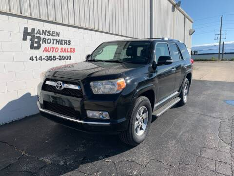 2012 Toyota 4Runner for sale at HANSEN BROTHERS AUTO SALES in Milwaukee WI