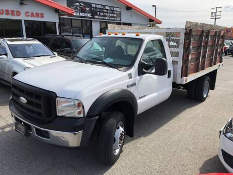 2007 Ford F-450 Super Duty for sale at Donada  Group Inc in Arleta CA