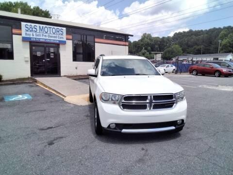 2011 Dodge Durango for sale at S & S Motors in Marietta GA