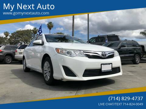 2012 Toyota Camry for sale at My Next Auto in Anaheim CA