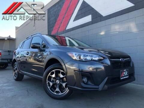 2018 Subaru Crosstrek for sale at Auto Republic Fullerton in Fullerton CA