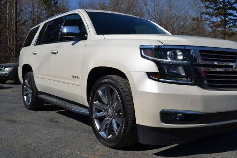 2015 Chevrolet Tahoe for sale at Victory Auto Sales in Randleman NC