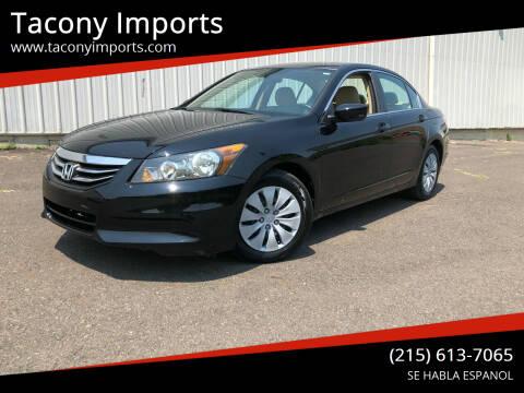 2012 Honda Accord for sale at Tacony Imports in Philadelphia PA
