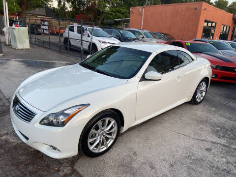 2012 Infiniti G37 Convertible for sale at Kings Auto Group in Tampa FL