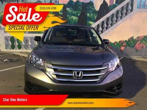 2012 Honda CR-V for sale at Star One Motors in Hayward CA