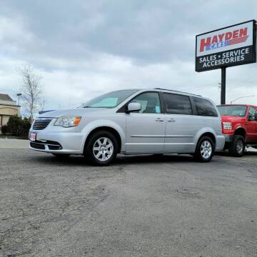 2012 Chrysler Town and Country for sale at Hayden Cars in Coeur D Alene ID