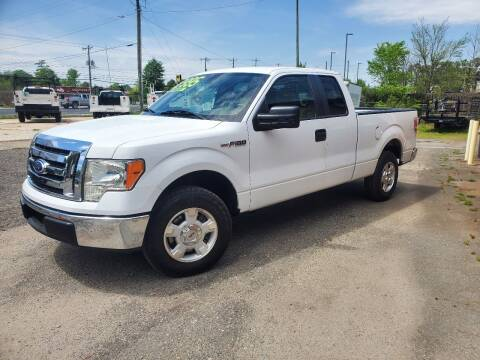 2010 Ford F-150 for sale at H & H Enterprise Auto Sales Inc in Charlotte NC
