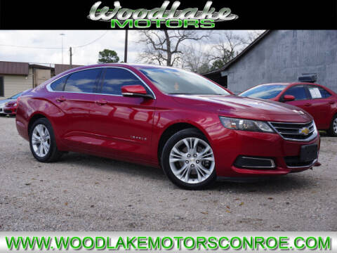 2015 Chevrolet Impala for sale at WOODLAKE MOTORS in Conroe TX