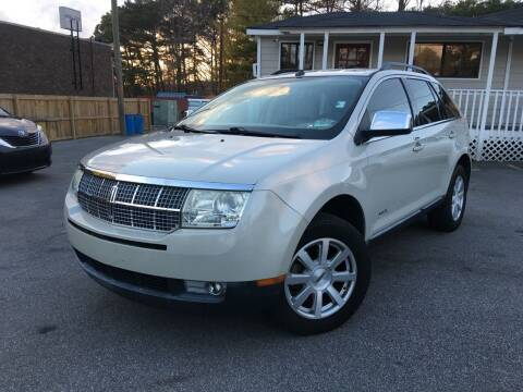2007 Lincoln MKX for sale at Georgia Car Shop in Marietta GA