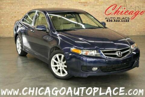 2006 Acura TSX for sale at Chicago Auto Place in Bensenville IL